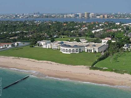 La mansión de los Trump