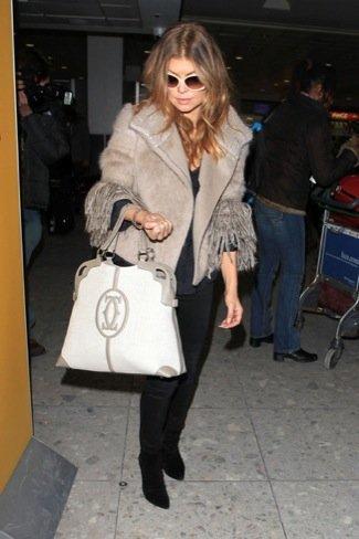 Fergie look calle viaje