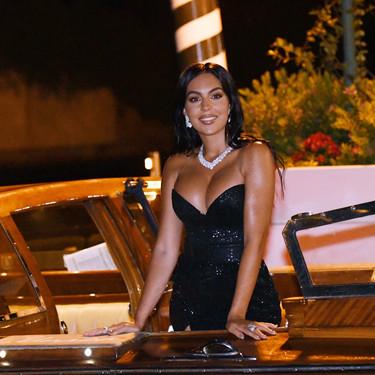 El vestido de lentejuelas con el que Georgina Rodríguez ha incendidado las redes sociales y el Festival de Venecia 2020