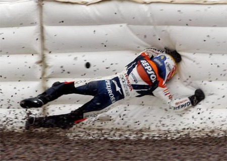 Dani Pedrosa Accidente