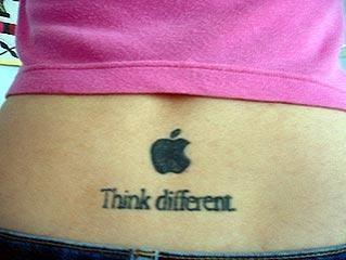 tatuaje think different