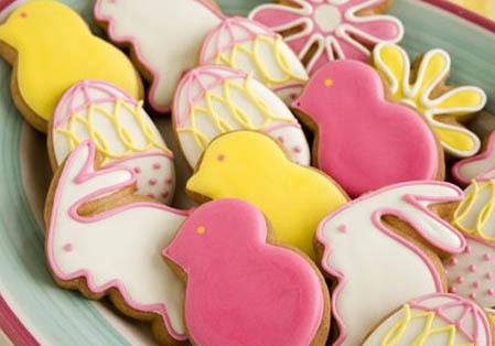 Cómo hacer galletas de Pascua