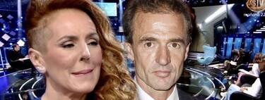 """La gravísima insinuación de Rocío Carrasco sobre Alessandro Lequio en directo:  """"Perro no come perro"""""""