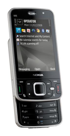 Telefónica anuncia el Nokia N96