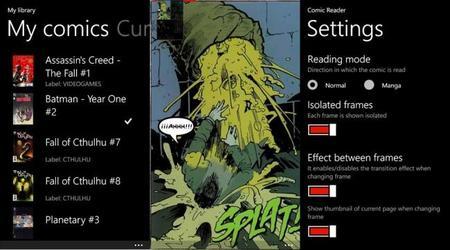 Si te gustan los comics y tienes un Windows Phone, te recomiendo Comic Time