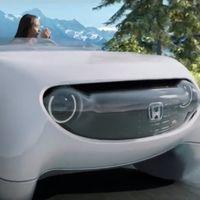 Honda adelanta su paradójica idea del futuro: un coche autónomo en el que el volante es esencial