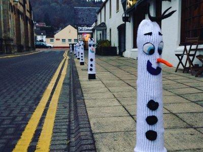 La Navidad ya está en todas partes: en este pequeño pueblo escocés han dado con la decoración navideña más original