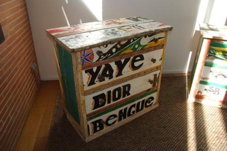 Artlantique, muebles africanos creados a partir de un barco