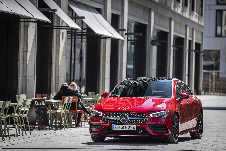 Foto de Mercedes-Benz CLA Coupé 2019, toma de contacto (227/248)