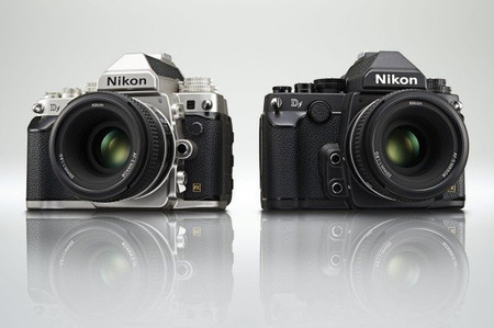 Nikon Df - En color plata y negro