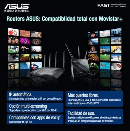 asus router movistar
