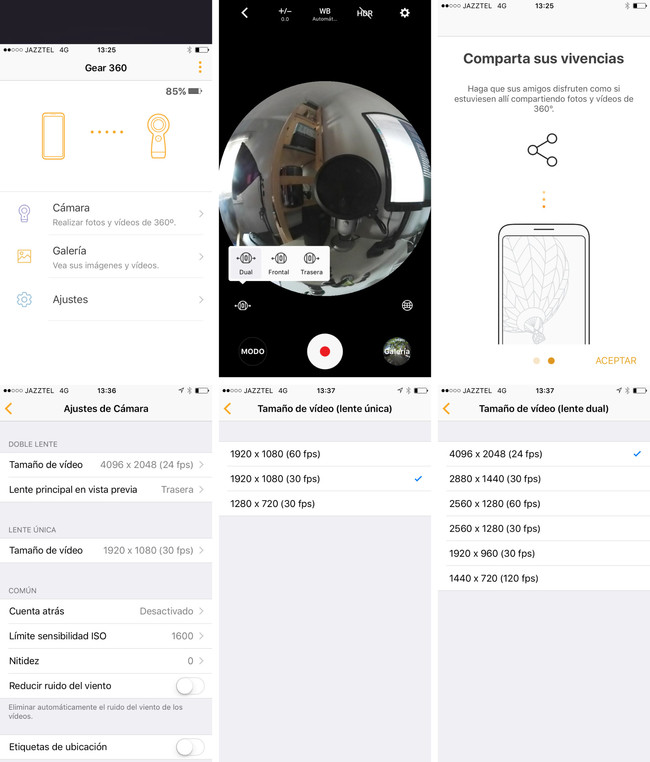 Gear 360 App