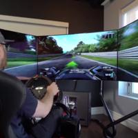 Un simulador para volverte loco, $35,000 dólares en tecnología para tu geek interior
