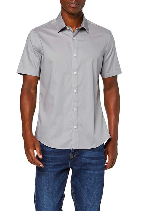Camisa manga corta de algodón