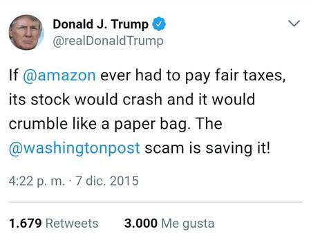 Trump Contra Amazon Solo Puede Quedar Uno En El Ring Tuit3
