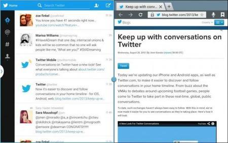 Twitter se optimiza para tablets