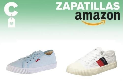 Chollos en tallas sueltas de zapatillas Tommy Hilfiger, Pepe Jeans o Levi's por menos de 40 euros en Amazon