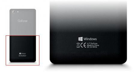 """Se filtra imagen del primer smartphone bajo la marca """"Windows"""" en lugar de """"Windows Phone"""""""