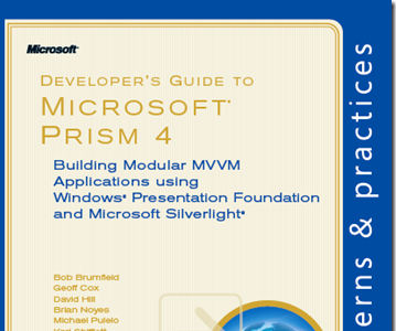 Publicado Guía de Desarrollo sobre Microsoft Prism 4