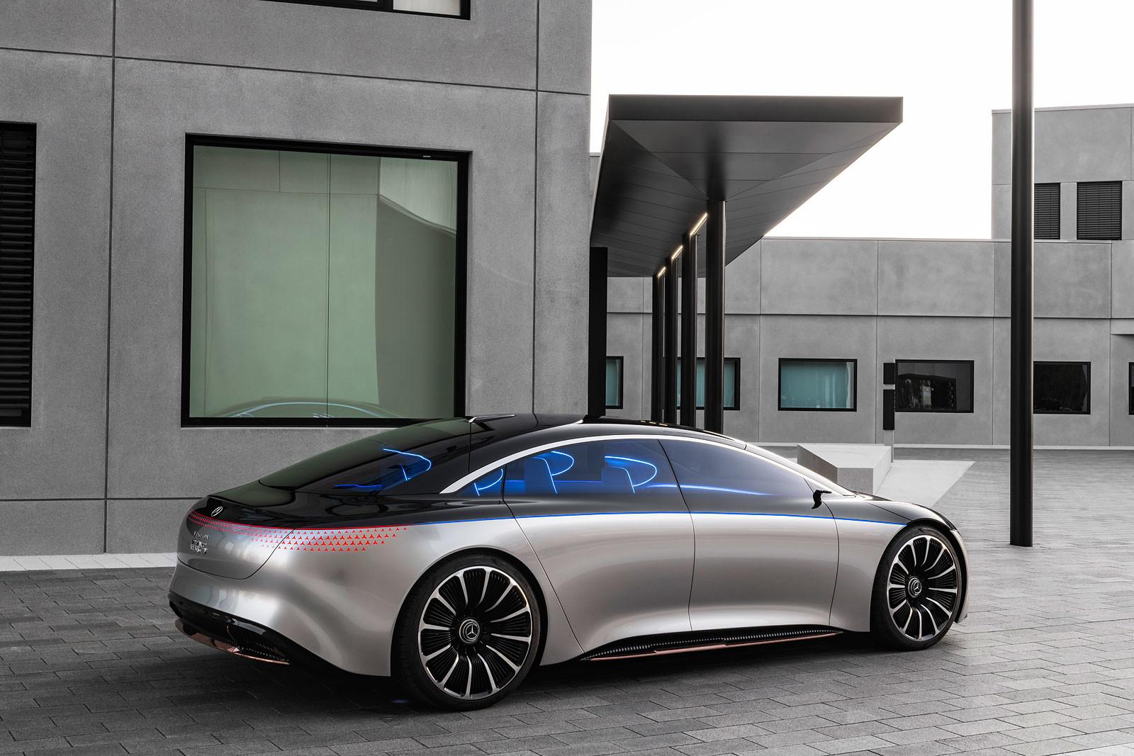 Foto de Mercedes Vision EQS (12/13)