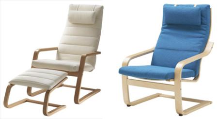 Sillones Ikea: Poang y Boliden