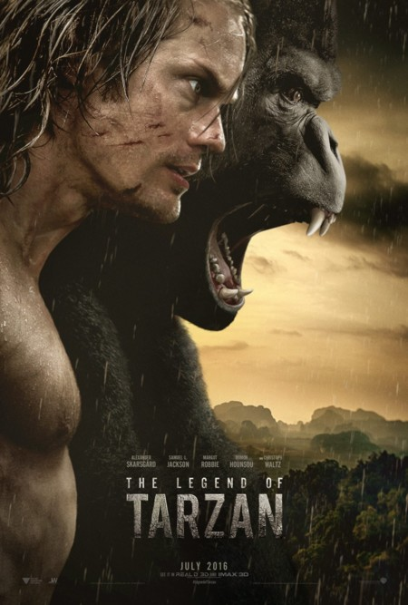 Cartel de The Legend of Tarzan
