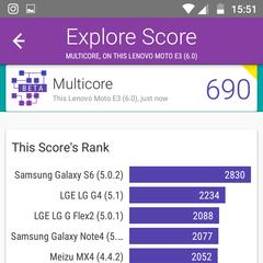 Foto 6 de 8 de la galería moto-e3-benchmarks en Xataka Android