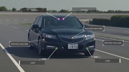 Honda Autonomo Sensores