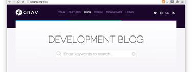 Cómo crear un blog sin necesidad de base de datos usando Grav