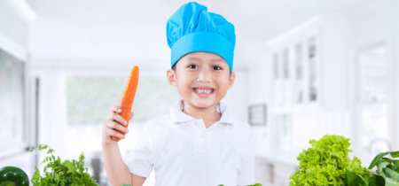 Cómo hacer marketing casero para que los niños coman verduras