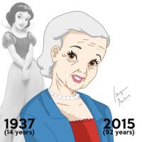¿Cómo serían las princesas Disney si tuvieran su verdadera edad actual?