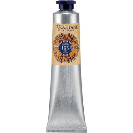 Crema de pies L'Occitane, gama karité. La probamos