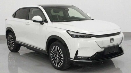 ¡Filtrado! Así luce el nuevo Honda HR-V en su variante eléctrica exclusiva para el mercado chino