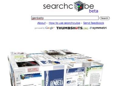 SearchCube: una diferente forma de buscar