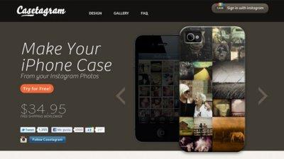 Casetagram, haz tus propias carcasas de iPhone con fotos de Instagram