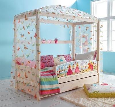 Camas infantiles con dosel un acierto o un garrafal error - Dosel para cama nina ...