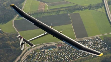 Solar Impulse 2 se convierte en el primer avión solar en cruzar el océano Pacífico
