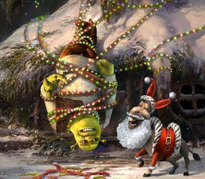 Shreketefeliznavidad, Antena 3 emite la nueva película de Sherk en el día de Navidad