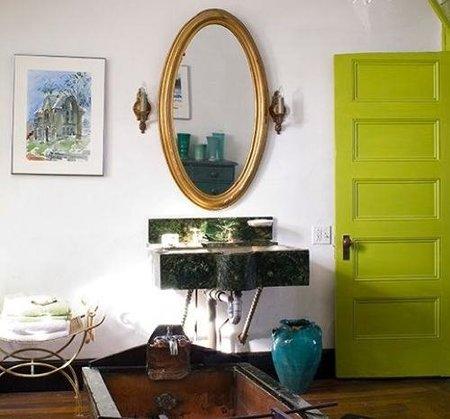verde pistacho puertas