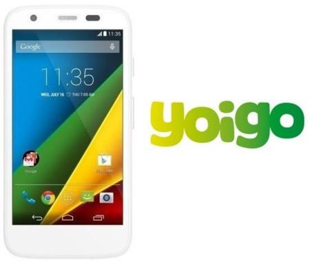 Precios Motorola Moto G 4G con Yoigo