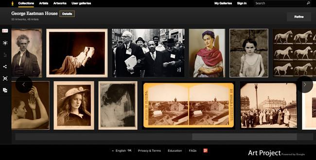 George Eastman House, el primer museo de fotografía en Google Art Project