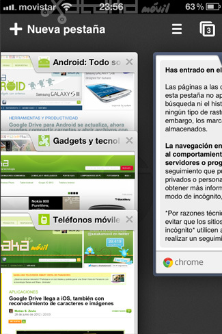 Foto de Google Chrome en iOS (13/15)
