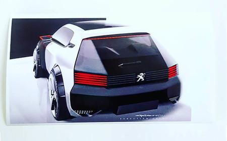 Se te caerá la baba con este Peugeot 205 GTi reinterpretado en clave moderna por la propia marca