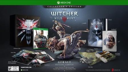 Encuentra las diferencias entre la edición coleccionista de The Witcher 3: Wild Hunt en Xbox One y el resto