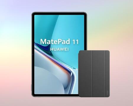 Esta potente tablet Huawei tiene pantalla 2K a 120Hz, diseño sin bordes y está a precio irresistible: 349 euros con funda