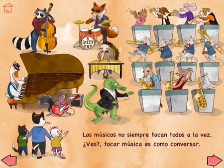 The Melody Book ha publicado 'A Jazzy Day' una aplicación educativa y musical para niños