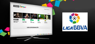 Canal+ Yomvi nos ofrecerá la Liga BBVA a través de internet
