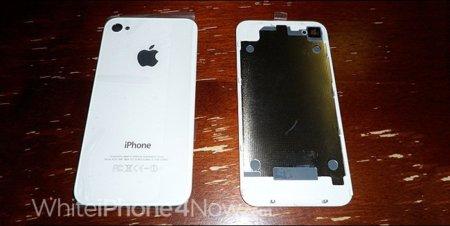 El iPhone 4 blanco podría empezar a distribuirse a mediados de noviembre