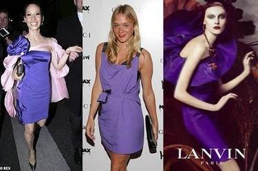 Se lleva el color lila