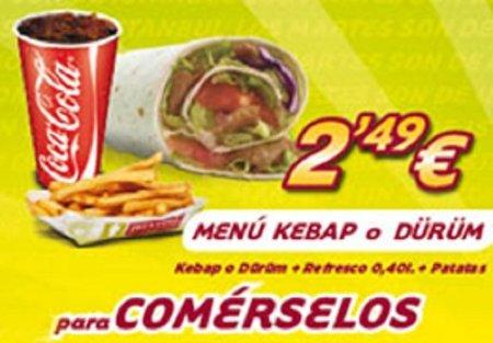 61% de descuento en Döner Kebab Istambul